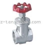 Threaded gate valve,cast steel gate valve,non-rising stem gate valve
