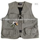 Waterproof and Multi Pocket Fishing Vest
