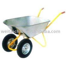 2 wheels wheelbarrow