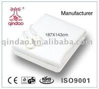 dual control electric blanket/ safe heating blanket / warm blanket