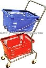 Luxury model shopping basket on trolley(DN-18)