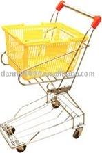 finely model sumperket plastic shopping basket(DN-20)