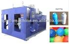 Plastic ball blow molding machine.