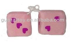 promotional dice dangler
