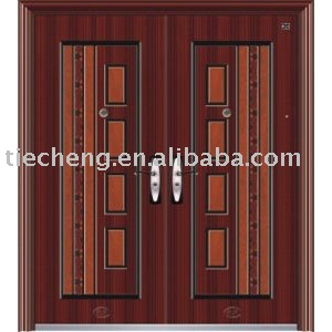 European and American Double leaf- steel door