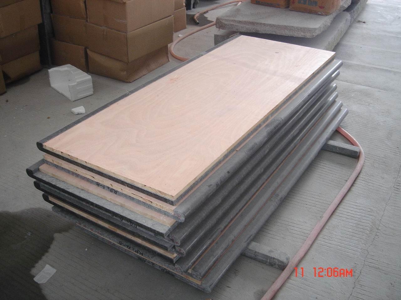 Cozinha em granito bancada laminado com 2 CM madeira Tampos de mesas  #7F5C4C 1280x960
