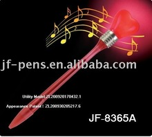 Red Heart cheap promotional pens