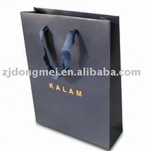Kraft carrier bag