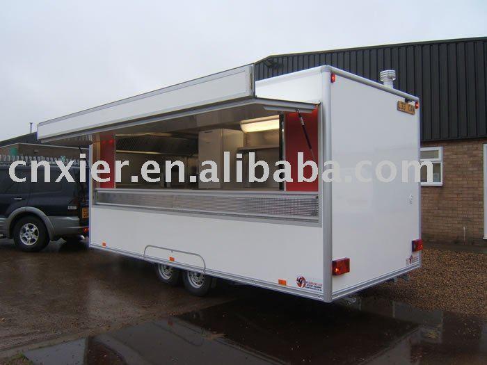 trailer di ristorazione mobile cucina camionrimorchi rimorchio fast food