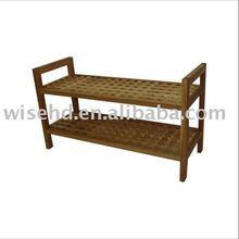 W-SF-8025 wooden shoe rack