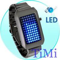 pimp Zero Kelvin Japanese 72 Blue LED Watch black