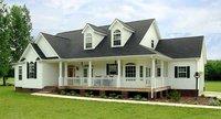 light timber house