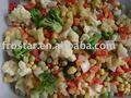 Congelados de la mezcla verduras
