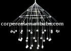 fiber optic chandelier lighting
