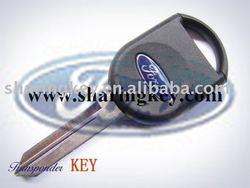Ford Focus Transponder Key Blank With Crystal Logo