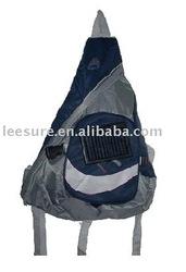 mobile charge solar energy sling bag
