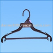 black color Plastic coat hanger(DN-57)