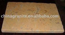 beige limestone tiles