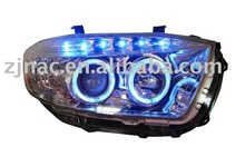 Highlander bi-xenon headlight assembly/Angel eyes