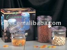 three-airtight food canister