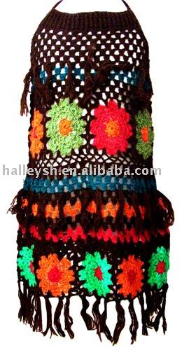 crochet dress wedding