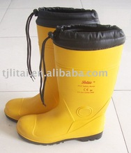 2012 new yellow steel toe cap safety industrial shoes