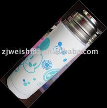 metal bottle by heat transfer /heat transfer film