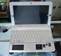 10.2inch mini laptop: Intel Atom N270; 1G ram; 160G HDD