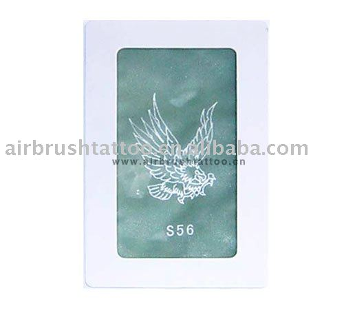 Description:There are 18 books of airbrush tattoo stencils, including nearly