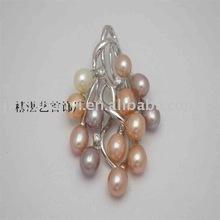 pearl silver pendant(OEM)