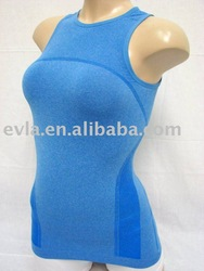 seamless leisure wear/seamless tank top