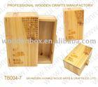 origin wood color wood tea case