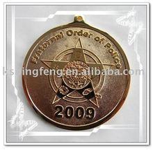 metal gold medal badge gift
