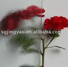 Patterned glass chinchilla