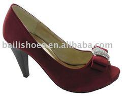high heel wedding shoe bridal shoe