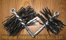 chimney brushes/wire brushes