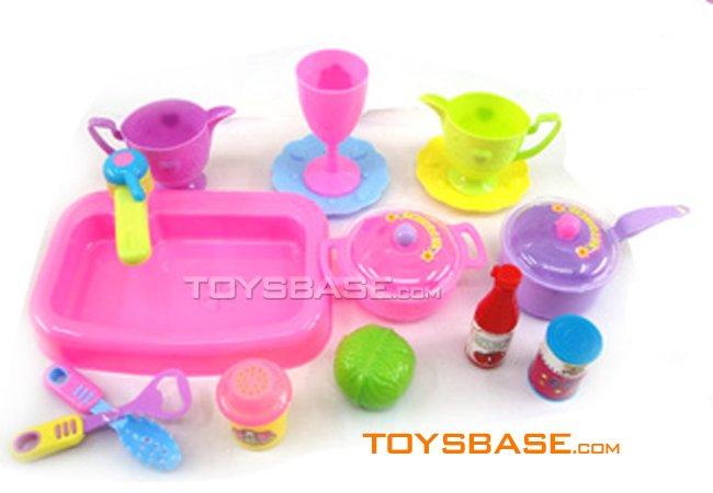 المطبخ لعبة / لعبة من البلاستيك مجموعة مطابخ / لعبة