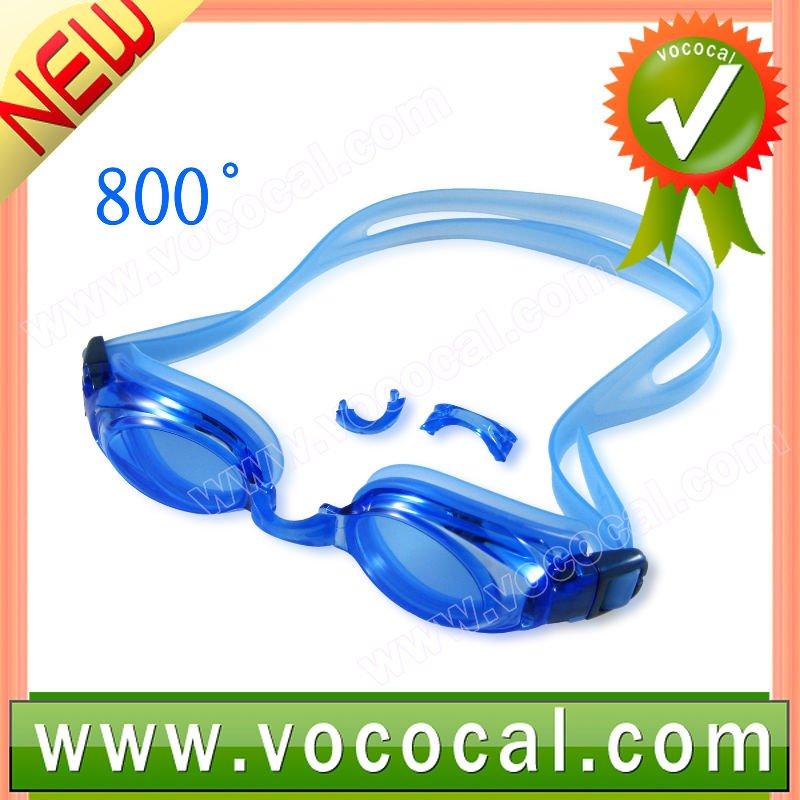 UV Ultraviolet Rays Protection 800 Degree Myopia Swim Glasses
