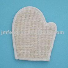 Cotton bath glove