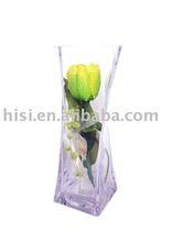 decorative glass vase(CREAM ROSE)