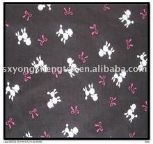 high density cotton poplin printed fabric