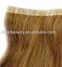 skin weft hair, human hair extension,100% Human Hair guaranteed