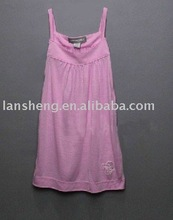 cute and fashion cotton girl's nightgown