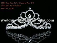 Bridal Wedding Crystal Tiara crown 9205