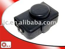 PU Leather Camera bag for PANASONIC DMC-LX3