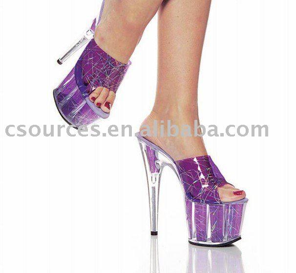 High Platform Sandals Sexy shoes SS-6889-25