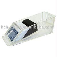 6 Deck Acrylic Card Shoe, Clarity