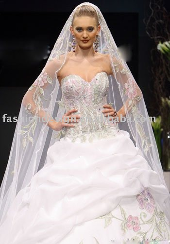 fashion arabic embroidery bridal wedding dresseslebanon wedding dresses