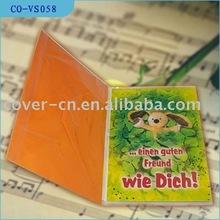 music birthday card/voice message card/Christmas sound card