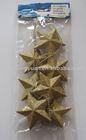 christmas ornament/christmas golden star